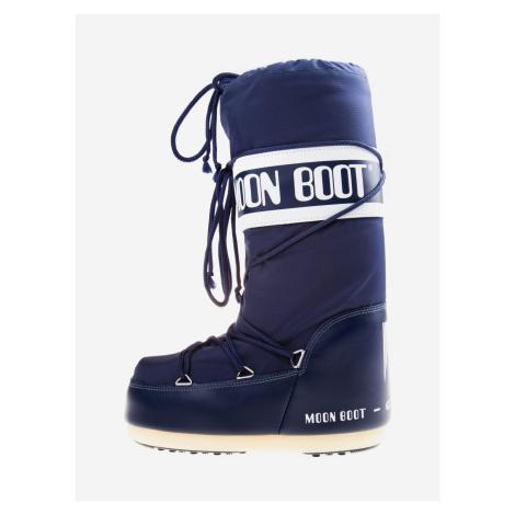 MB Nylon Sněhule Moon Boot Modrá