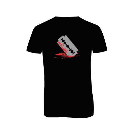 Pánské triko s výstřihem do V Žiletka