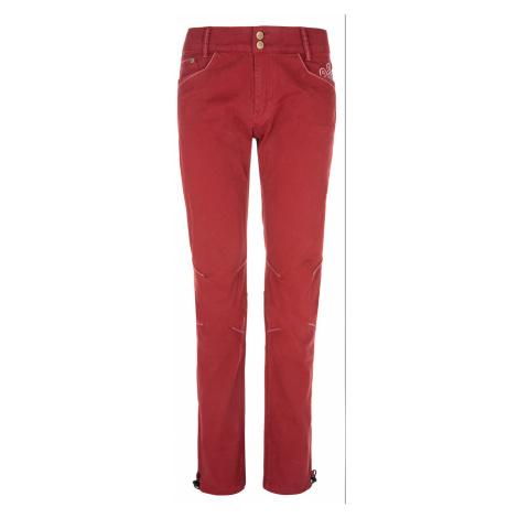 KILPI Dámské outdoorové kalhoty DANNY-W NL0075KIDRD Červená