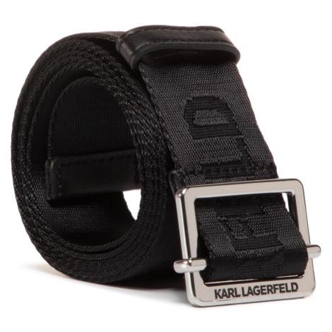 Černý opasek - KARL LAGERFELD