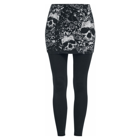 Black Premium by EMP 2 v 1: leginy a sukně Leginy černá