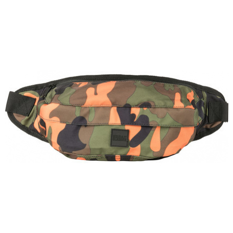 Urban Classics Camo Shoulder Bag orange camo