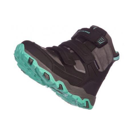 Dětská zimní obuv Alpine Pro ACACIO - tyrkysová