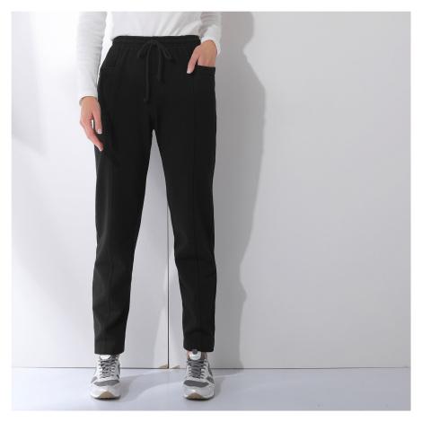 Blancheporte Meltonové sportovní kalhoty černá