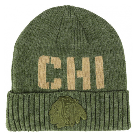 Zimní čepice Fanatics Modern Utility Cuffed Beanie NHL Chicago Blackhawks