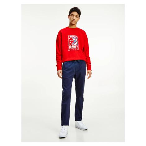 Tommy Jeans pánské tmavě modré kalhoty Tommy Hilfiger