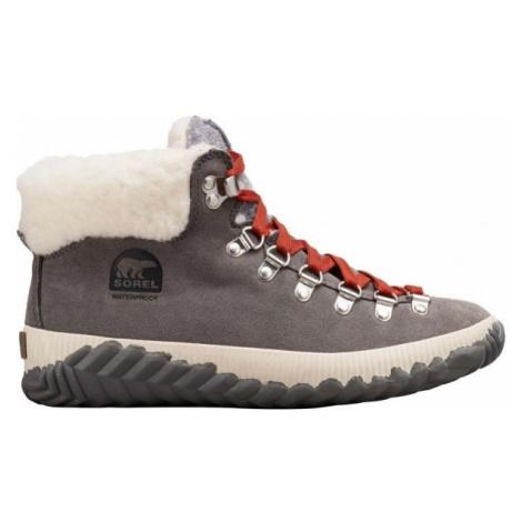 Sorel OUT N ABOUT PLUS CONQUES šedá - Dámská zimní obuv