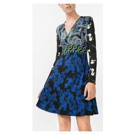 Šaty s květy Desigual