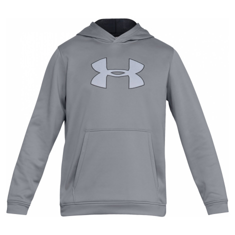 Mikina Under Armour Performance Fleece Graphic Hoody - šedá