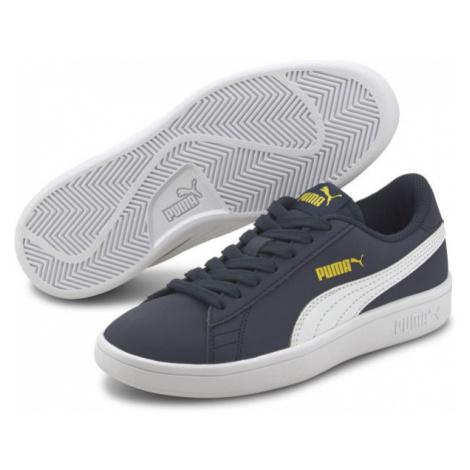 Puma SMASH V2 BUCK JR tmavě šedá - Dětské vycházkové boty