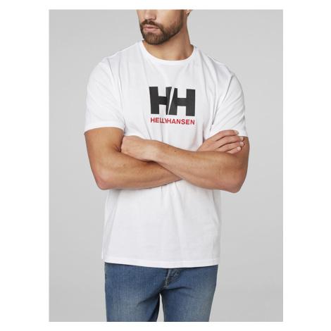 Tričko Helly Hansen Logo T-Shirt Bílá