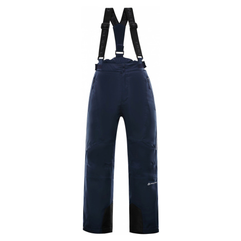 ALPINE PRO ANIKO 3 Dětské lyžařské kalhoty KPAP168602 mood indigo