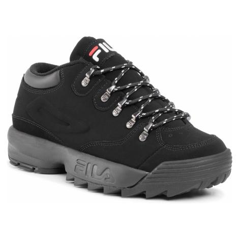 Sneakersy FILA - Disruptor Hiker Low 1010708.12V Black/Black