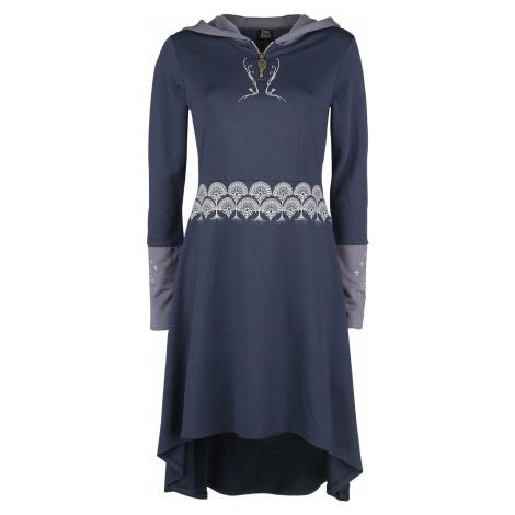 Pán prstenů Tree Of Gondor šaty tmavě fialová
