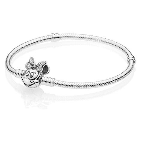 Pandora Stříbrný náramek Disney Minnie 597770CZcm