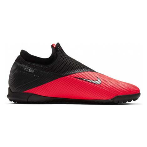 Nike PHANTOM VSN 2 ACADEMY DF TF červená - Pánské turfy