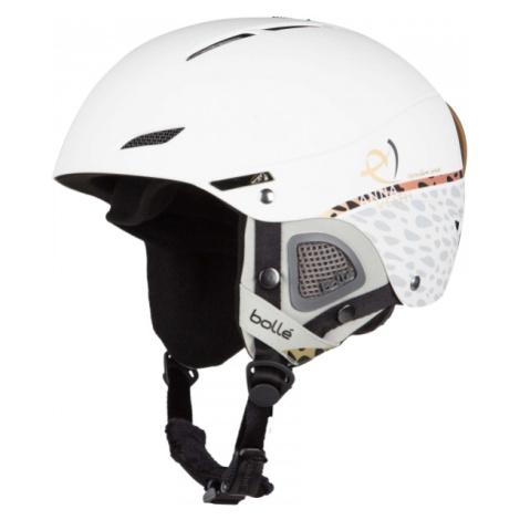 Bolle JULIET ANNA VEITH bílá - Dámská sjezdová helma