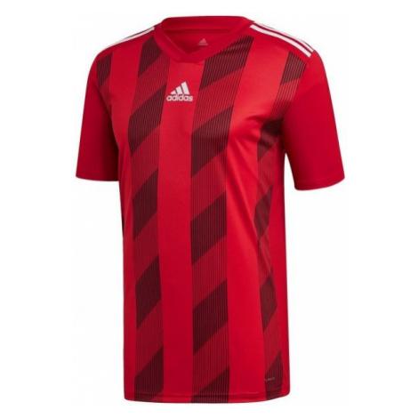 adidas STRIPED 19 JSY červená - Fotbalový dres