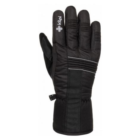 KILPI Unisex lyžařské rukavice GRANT-U LU0010KIBLK Černá