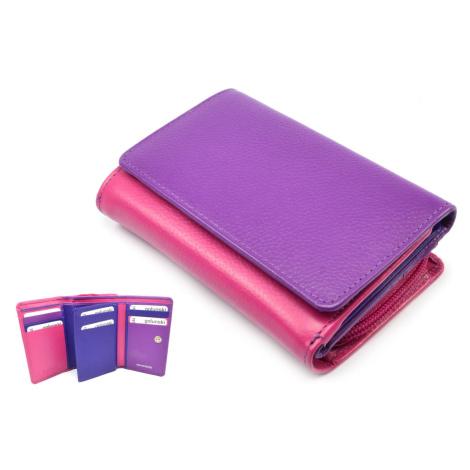 Malá peněženka barevná Golunski