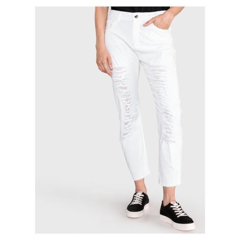 Jeans TWINSET Bílá