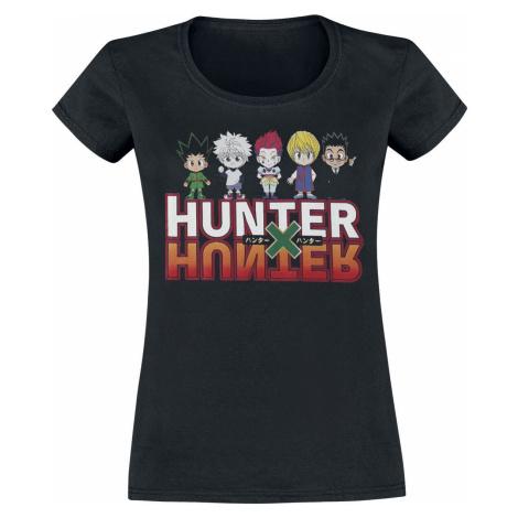 Hunter x Hunter Group dívcí tricko černá
