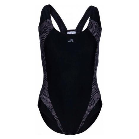 Aress ROSANA černá - Dámské jednodílné plavky