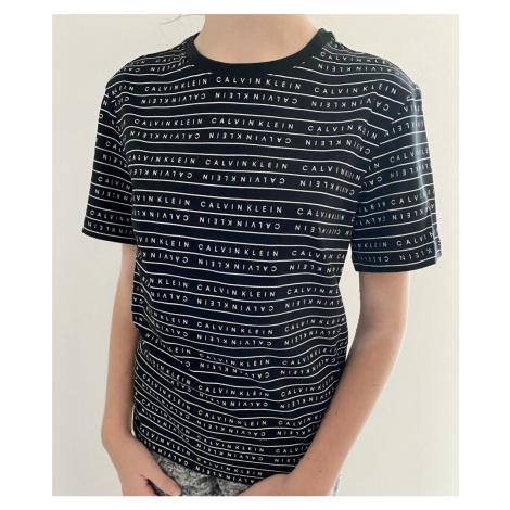 Dětské triko Calvin Klein B700285   černá