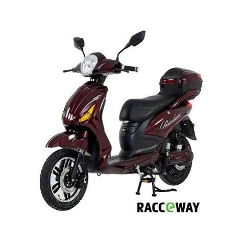 Racceway E-Moped, 12Ah, vínový-lesklý