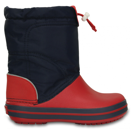 Crocs Crocband LodgePoint Boot K - Navy/Red J3