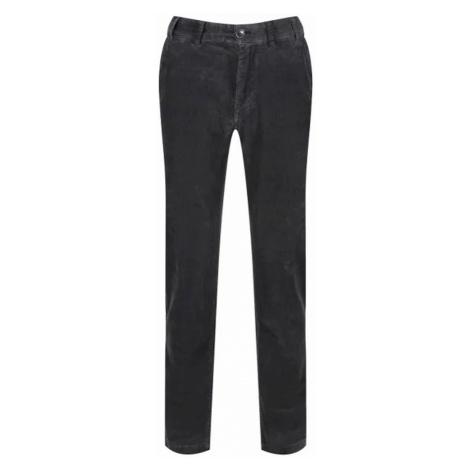 Manšestrové kalhoty Barbour Neuston Stretch Cord - antracit