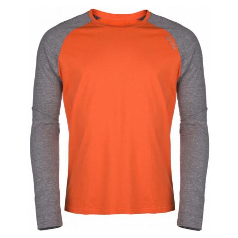 KILPI Pánské triko s dlouhým rukávem LONGO-M HM0096KIORN Oranžová