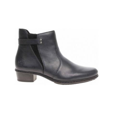 Rieker dámská zimní obuv Y0750-15 blau Modrá