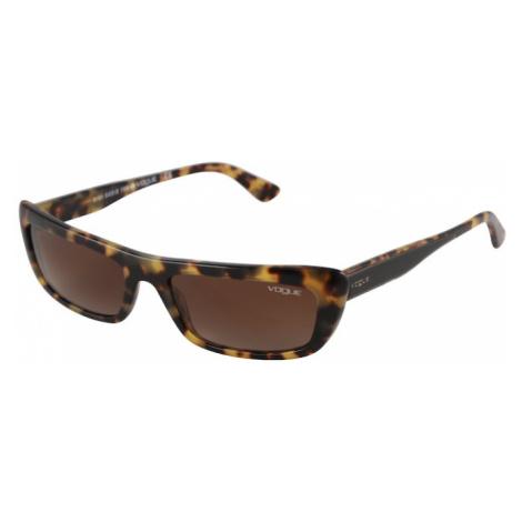 VOGUE Eyewear Sluneční brýle 'BELLA' hnědá / žlutá