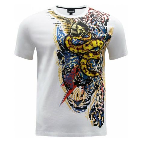 JUST CAVALLI Tiger White tričko