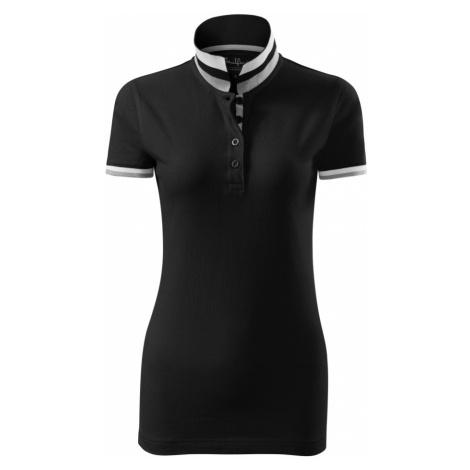 Malfini premium Collar up Dámská polokošile 25701 černá