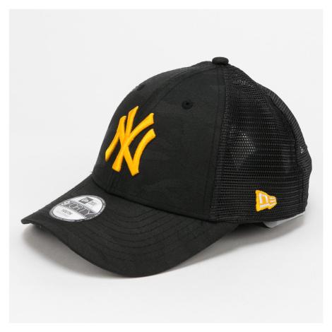 New Era 940 Trucker MLB Chyt Home NY camo černá / žlutá CHILD (52 - 54 cm)