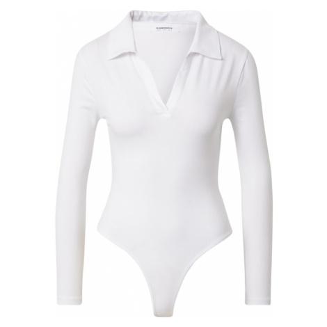 GLAMOROUS Tričkové body bílá