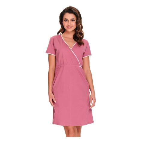 Noční košile Heidi růžová bavlna organic