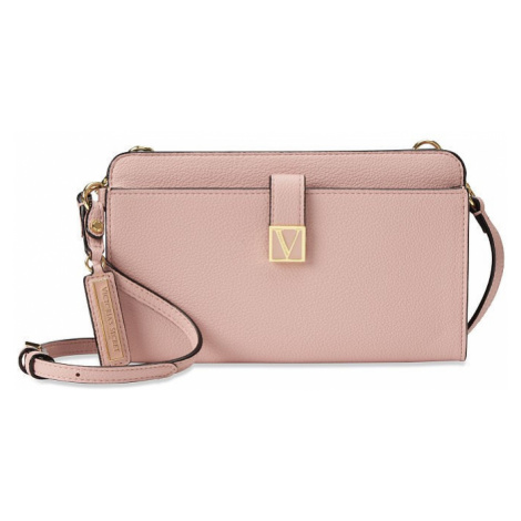 Victorias Secret luxusní růžová kabelka Convertible Crossbody Victoria's Secret