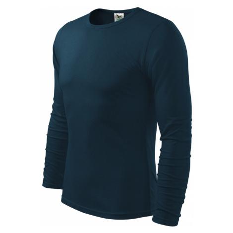 Malfini FIT-T Long Sleeve Pánské triko 11902 námořní modrá
