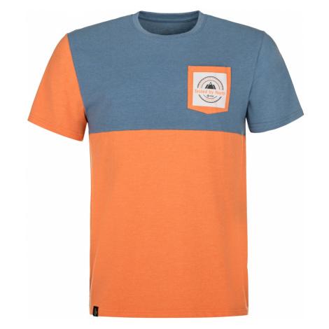 Pánské tričko KILPI MELANG-M oranžová