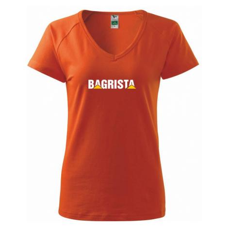 Bagrista nápis - Tričko dámské Dream