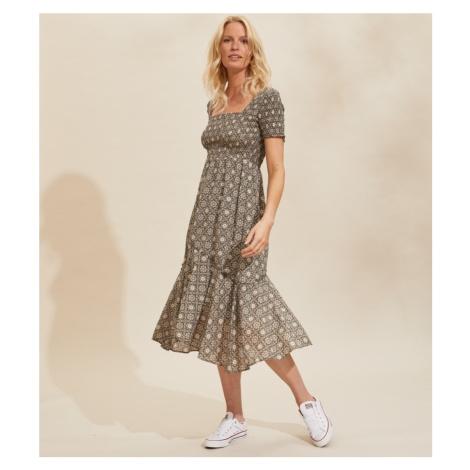Šaty Odd Molly Perfect Print Dress - Šedá