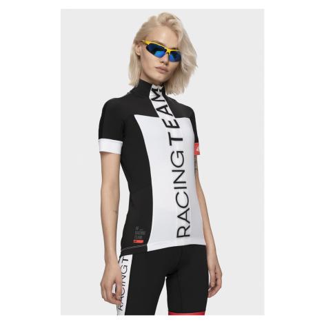 4F Dámské cyklistické tričko RKD150 – bílé