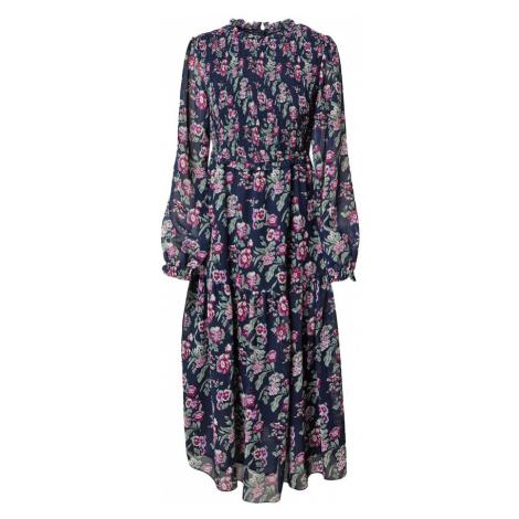 Dorothy Perkins Šaty modrá / pastelově zelená / pink / růžová