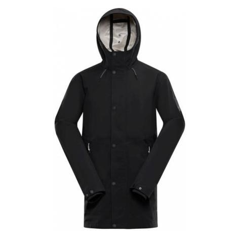 Nadij černá pánská bunda s mebránou ptx ALPINE PRO