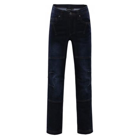 ALPINE PRO CHIZOBO Dětské riflové kalhoty KPAL106602 mood indigo