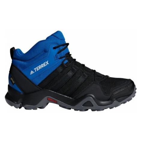 adidas TERREX AX2R MID GTX modrá - Pánská treková obuv