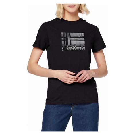 Napapijri NAPAPIJRI dámské tričko SHYAMOLI BLACK